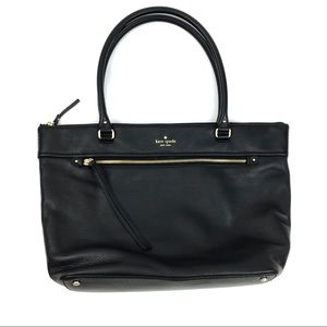 Kate Spade Cobble Hill Gina Black Leather Tote
